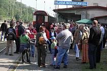 Den železnice v Mladé Boleslavi.