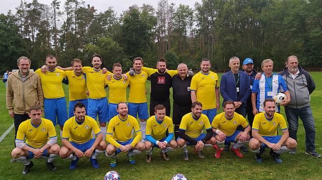 Tým Ledců hraje v sestavě s posilami z ukrajinské fotbalové školy.