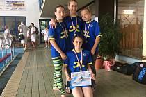 Boleslavští plavci v Domažlicích