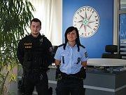 Policisté zachránili život mladíkovi.