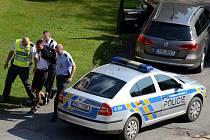 Policejní zásah v Bělé pod Bezdězem