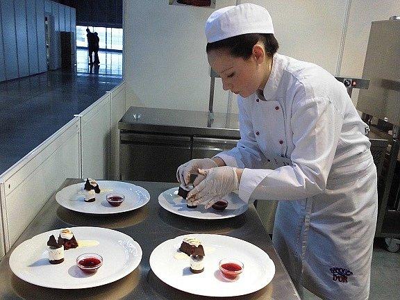 Markéta Gurvayová zářila na cukrářské soutěži