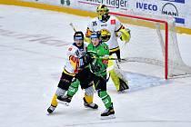 Dohrávka 10. kola hokejové extraligy mezi BK Mladá Boleslav a HC VERVA Litvínov skončila až po nájezdech.