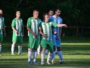 Fotbal, III. třída, Ledce - Pěčice B.