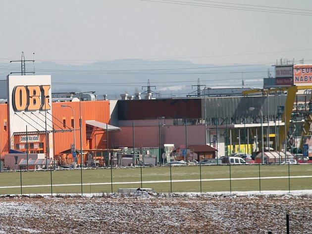 Hřiště pro fotbalovou akademii