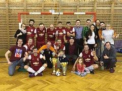 Vítěz okresní futsalové soutěže Mladoboleslavska 2016/2017 - Gunners Řepov