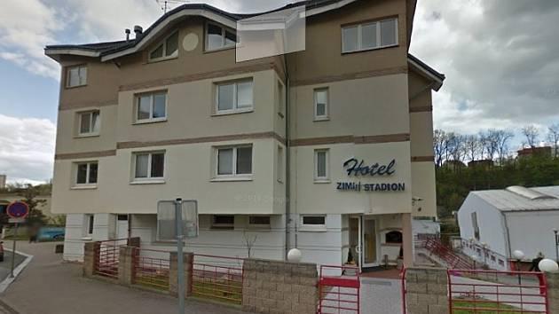 Hotel na zimním stadionu v Mladé Boleslavi