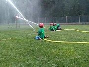 V Benátkách nad Jizerou proběhla okrsková soutěž v požárním sportu.