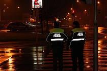 Kontrola městské policie v lokalitě u Kauflandu