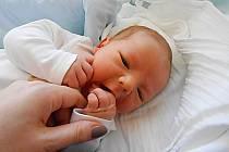 Kristián Skoupý se narodil 11. února, vážil 4,16 kg a měřil 53 cm. Maminka Nikola a tatínek Honza si ho odvezou domů do Doks.