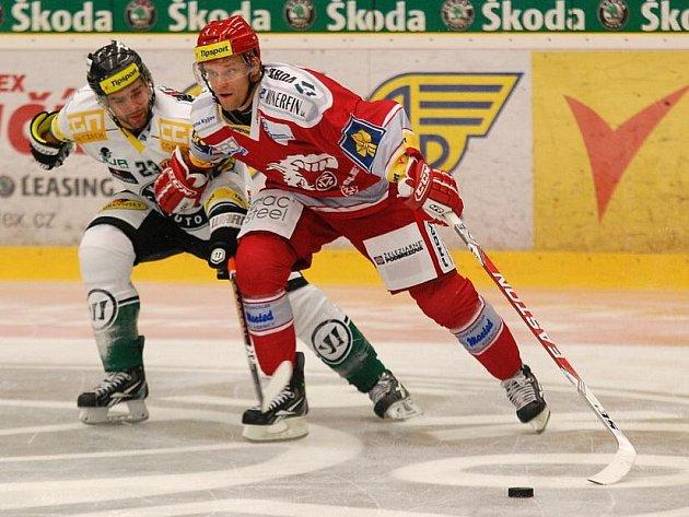 Tipsport extraliga: BK Mladá Boleslav - HC Oceláři Třinec