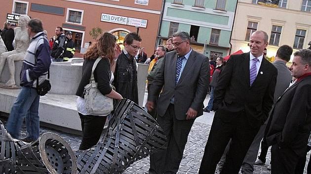 Otevření Staroměstského náměstí v Mladé Boleslavi.