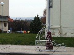 Mladá Boleslav má novou vánoční výzdobu města