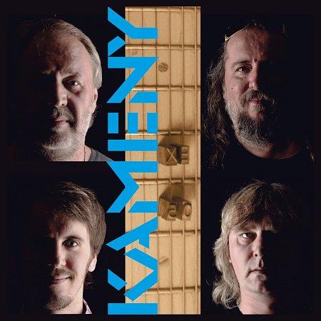 Přední obal CD Kameny od kapely EX 05.