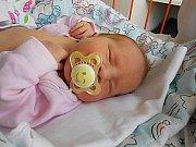 Eliška Pávišová se narodila 21. května, vážila 3,46 kg a měřila 49 cm.