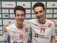 Jakub Bína a Filip Zakonov