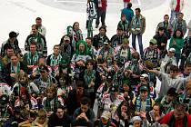 Oslavy udržení extraligy na ledě Metrostav Areny