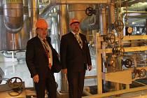 Ško-Energo funguje už dvacet let, na snímku jednatelé Jaromír Vorel a Miroslav Žďánský