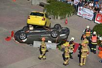 Mistrovství hasičského sboru ve vyprošťování zraněných osob z aut