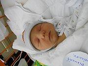 Mikuláš Vázler se narodil 27. května, vážil 4,14 kg a měřil 54 cm. S maminkou Lenkou a tatínkem Lukášem bude bydlet v Milovicích.