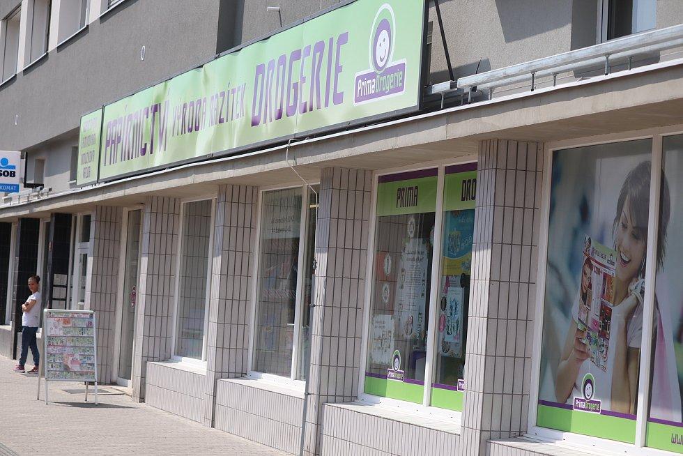 Otevření obchodů v Mladé Boleslavi po lockdownu, duben 2021.