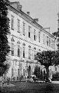 Benátecký zámek foto z roku 1885