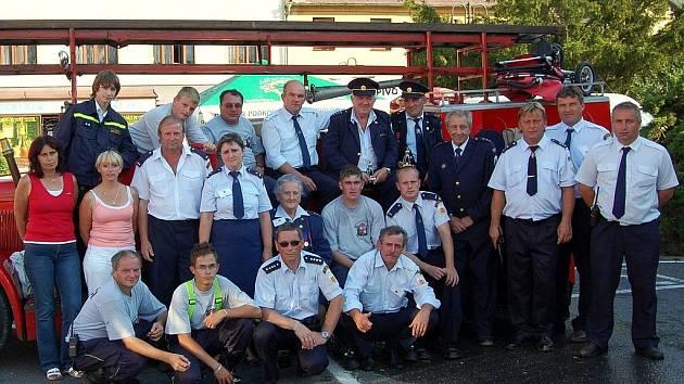 Sbor dobrovolných hasičů Benátky nad Jizerou.
