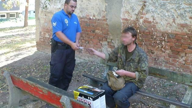 Hledaného muže objevila městská policie