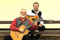 Otec a syn zahrají v Hradišti na kytary