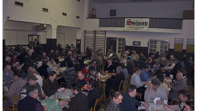 V Příšovicích se konal velký turnaj v mariáši.