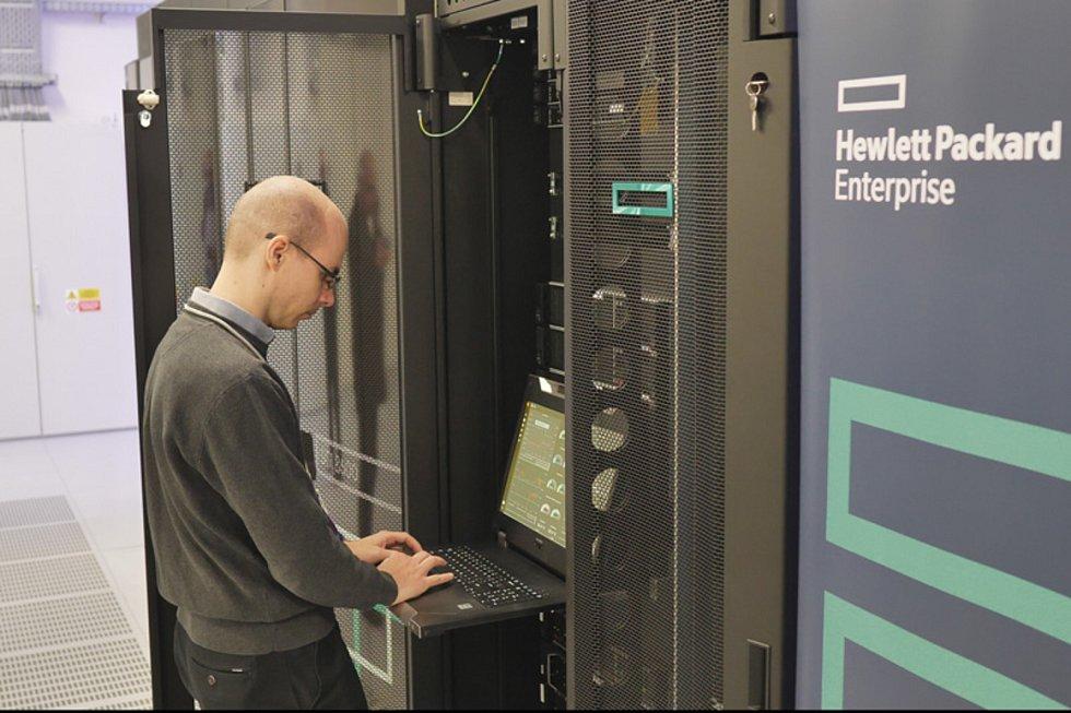 Nejvýkonnější superpočítač v ČR