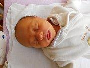 Tomáš Fousek se narodil 3. března, vážil 3,08 kg a měřil 50 cm. Maminka Veronika a tatínek Tomáš si ho odvezou domů do Sudova Hlavna.
