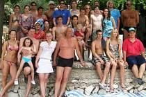 Výprava boleslavských florbalistů na dovolené v Chorvatsku