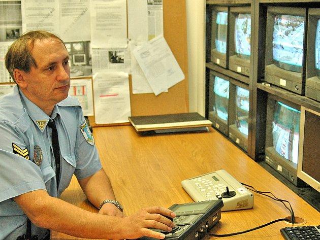 Monitorovací centrum kamer v Mladé Boleslavi se výrazně rozšíří.