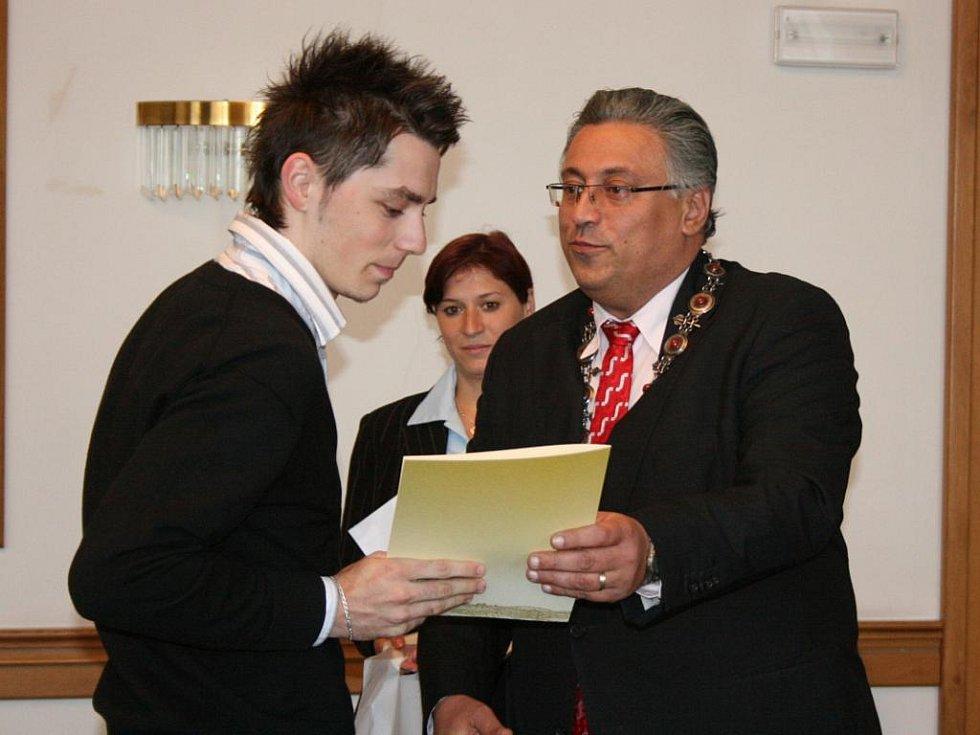 Florbalisté Billy Boy Mladá Boleslav na audienci u primátora