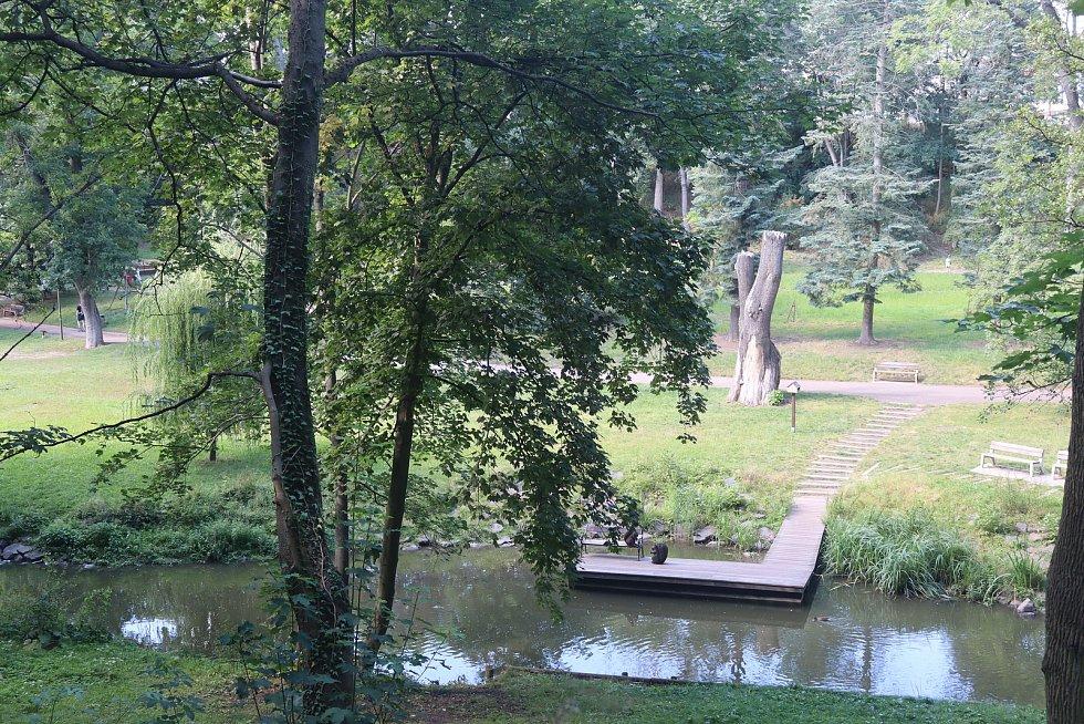 Park Štěpánka.
