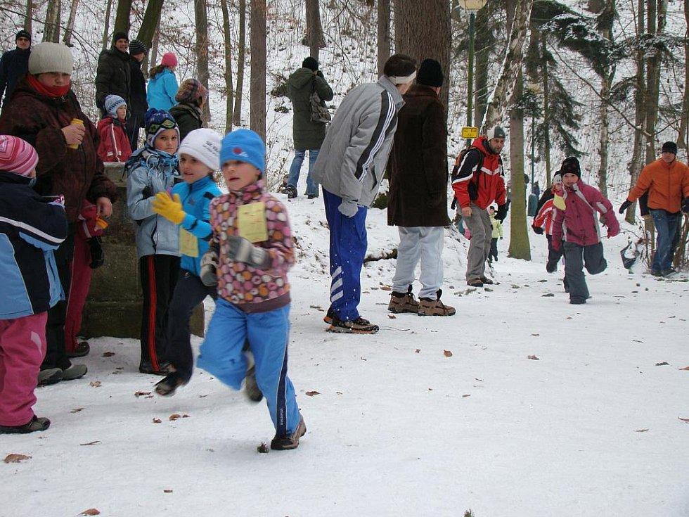 Silvestrovské dopoledne ve Štěpánce se neslo ve sportovním duchu. Běželi malí i velcí.