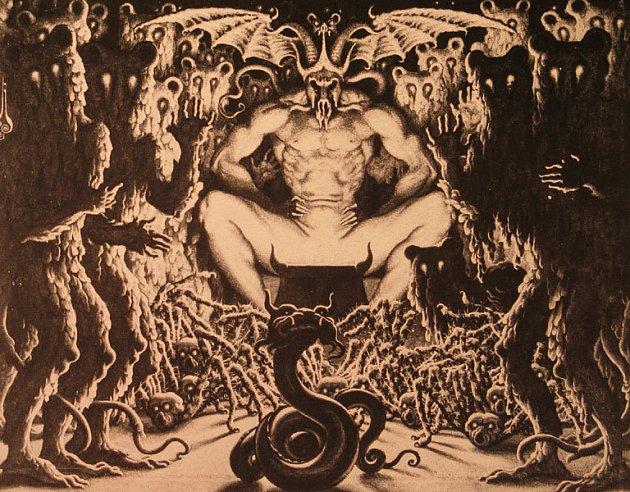 Satan. Ilustrační obrázek