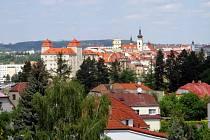 Mladá Boleslav, pohled na hrad.