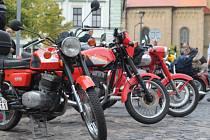 V Mšenu se v sobotu konalo v pořadí osmé setkání motocyklů československé výroby.