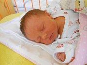 Aneta Šťáhlavská se narodila 29. října, vážila 3,15 kg a měřila 48 cm. S maminkou Lenkou a tatínkem Zdeňkem bude bydlet v Mladé Boleslavi, kde už se na ni těší bráška Pepíček.