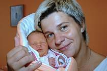 Lucie Strašilová z Doubravy porodila dceru Míšu Marhounovou (2,90 kg, 49 cm), která se narodila 10. října ve 22.30 hodin.