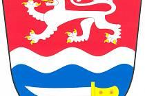 Znak obce Hrdlořezy.