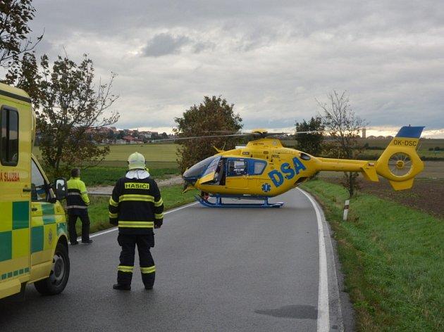 Ve čtvrtek 14. září před 18. hodinou se na silnici č. 272 mezi Benátkami nad Jizerou a obcí Jiřice stala dopravní nehoda čtyř osobních automobilů a dodávky.