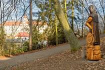 Lesopark Mnichovo Hradiště.