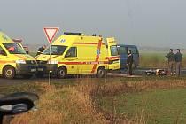 Vážná dopravní nehoda u Nepřevázky.