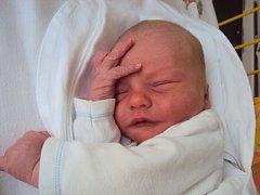 TOMÁŠ Triebl se narodil 24. června a jeho porodní míry byly 3,3 kg a 50 cm.