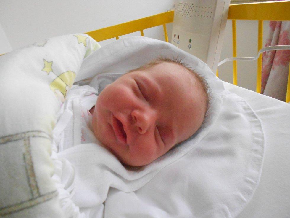 SOFIE Dubničková přišla na svět 17. října s mírami 3,62 kilogramů a 52 centimetrů. Bydlet bude v Řepově s maminkou Kateřinou, tatínkem Augustinem a sourozenci Kačkou a Gustíkem.