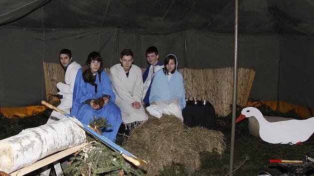 Vánoční jarmark na zámku v Kosmonosích 2012