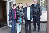 Z návštěvy Víta Fialy v DPS v Dolním Bousově